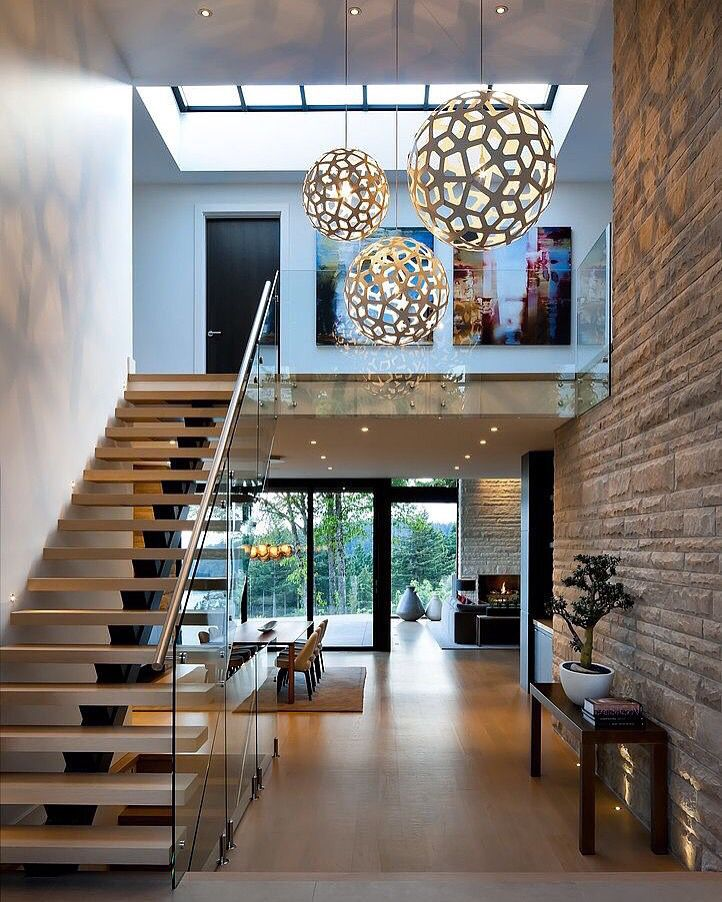 Get Inspired, visit: www.myhouseidea.com #myhouseidea #interiordesign  #interior. Lighting IdeasHall LightingHigh Ceiling ...