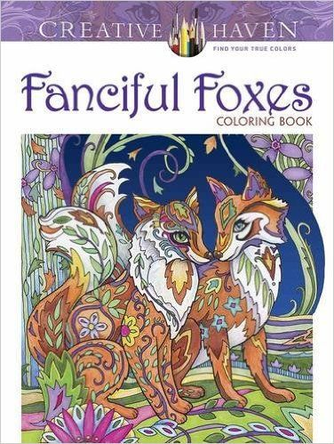 Amazon Creative Haven Fanciful Foxes Coloring Book Adult