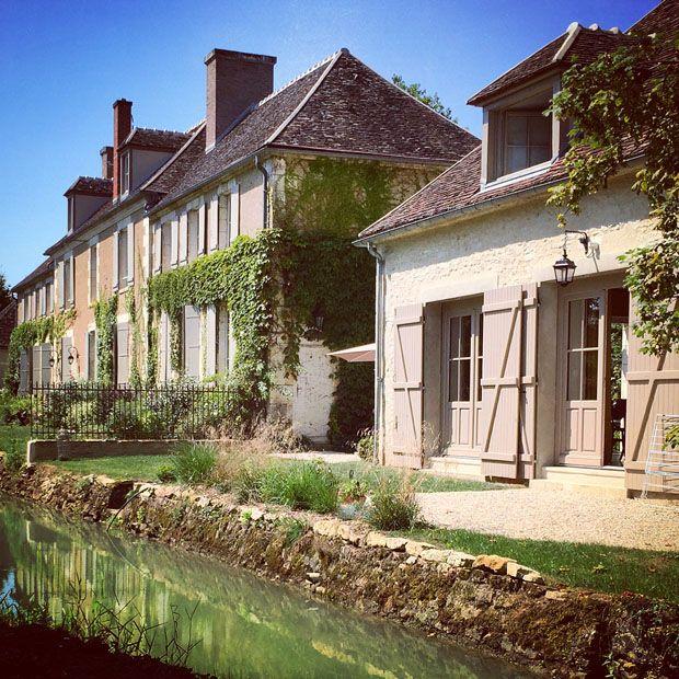 """Un gîte """"campagne chic"""" en Bourgogne"""
