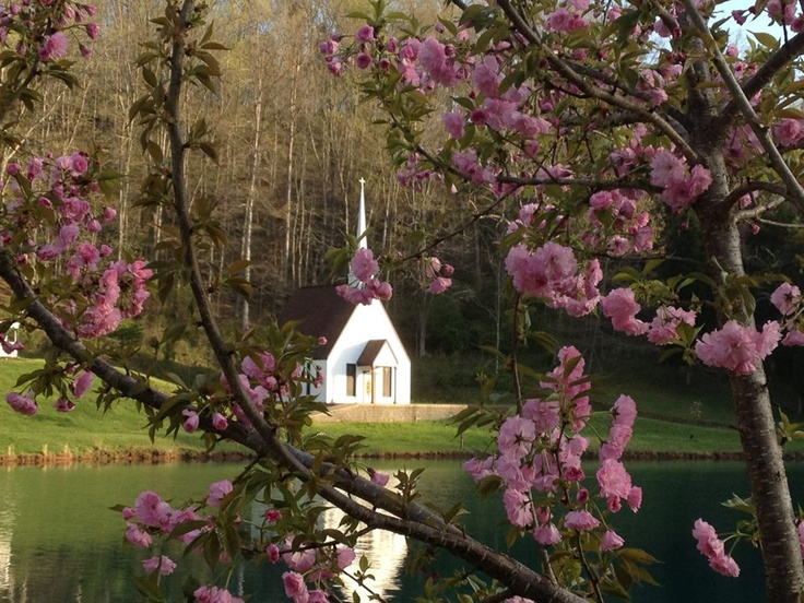 Little church in the valley