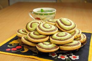 Фото к рецепту: Шокомятки (шоколадно-мятное печенье). Видео