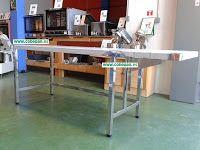 COBEPAN.ES maquinaria y accesorios para Panaderia y Pasteleria.: Mesas inoxidables con batiente.