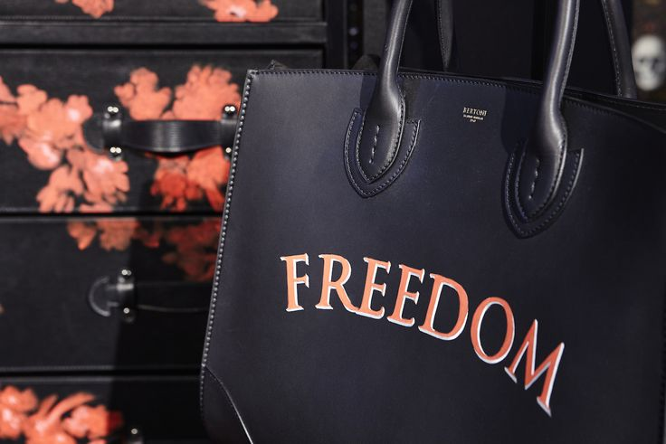 Freedom Collection - Painted-details of the new collection of bags and luggage #AW1617 season. #Bertoni1949