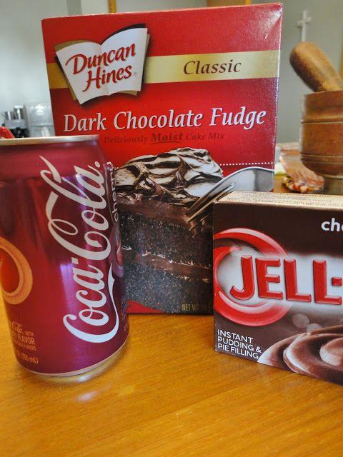 Frugal Foodie Mama: Chocolate Covered Cherry Coke Cake