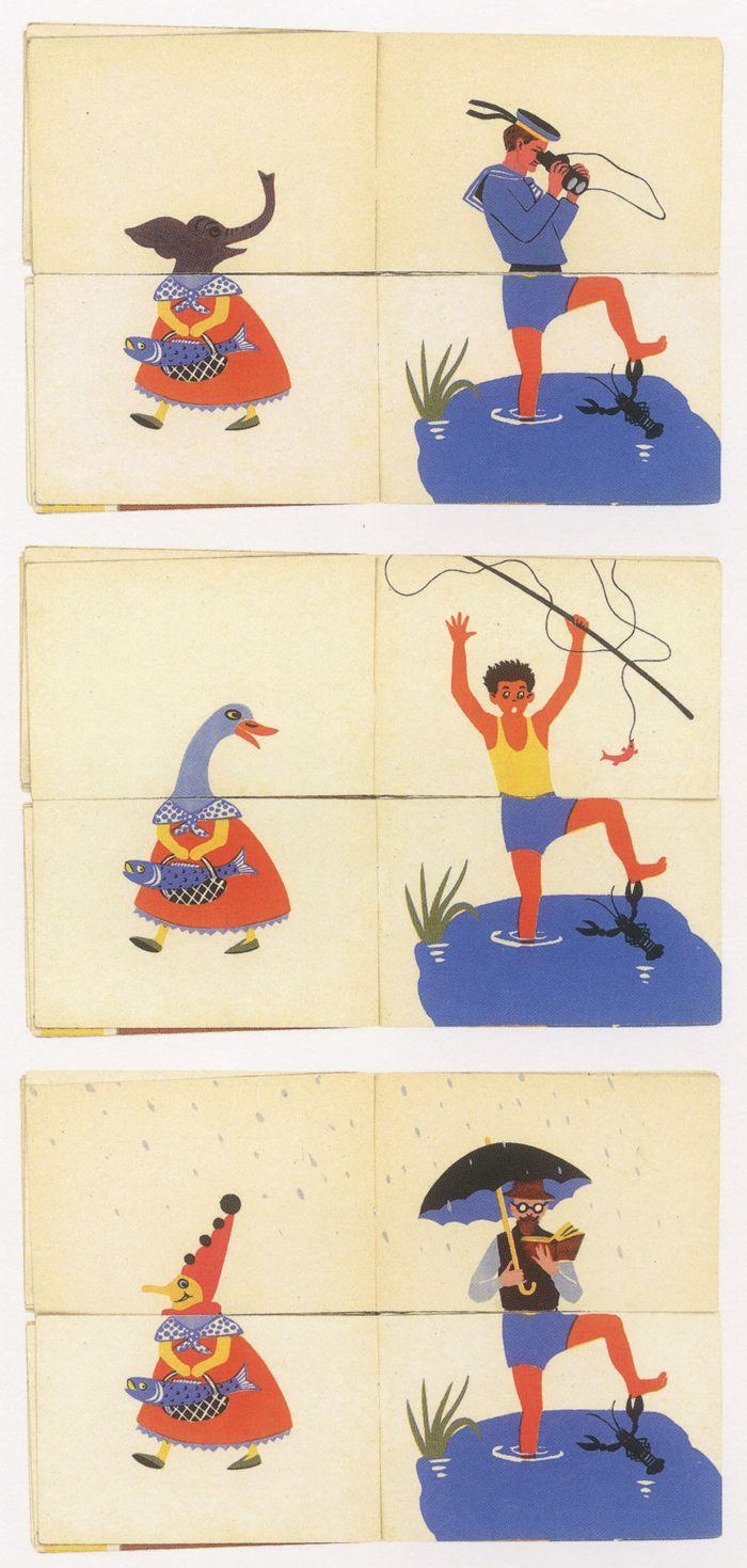 Watercolor books for kids - Splash Flip Bookspicture Bookschildren