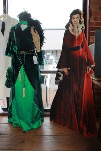 Iconic Dresses: Costumes from the film Gone with the Wind displayed during Gone With the Wind Museum 10th Anniversary Celebration in Marietta, Georgia.source