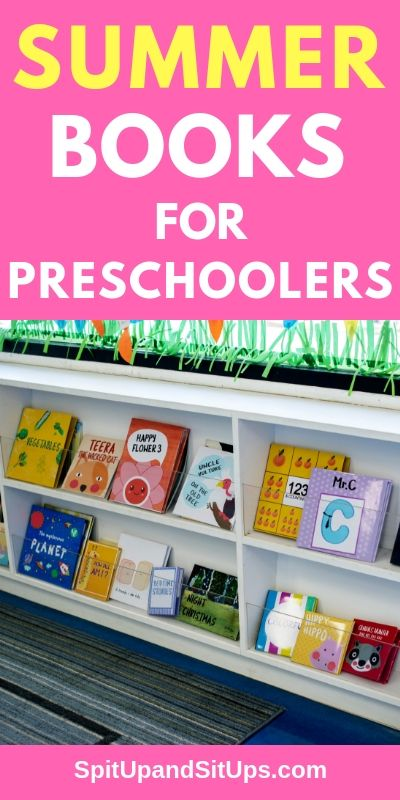 Summer Books For Preschoolers