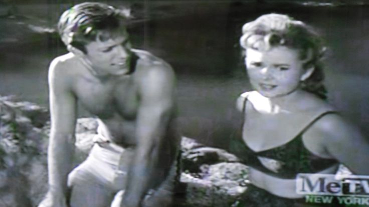 "Richard Chamberlain and Olive Sturgess in ""The Watcher."" Thriller episode, 1960"