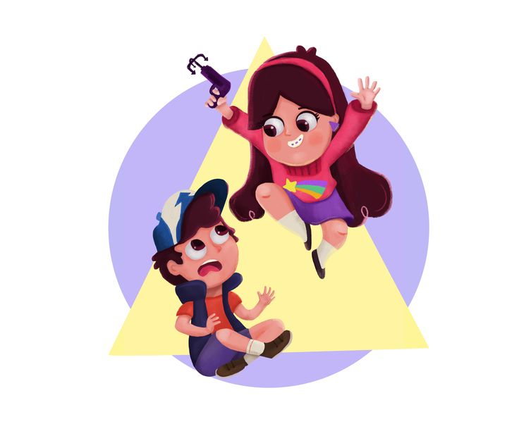 https://www.behance.net/gallery/55978769/Fanart-Mabel-Dipper?