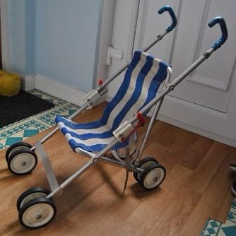 I had the real version of this in blue as my actual pushchair