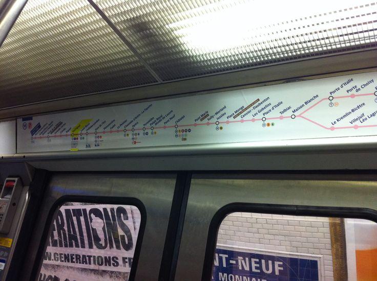 Paris metro - July 2015