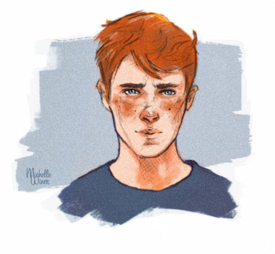 Ron Weasley by Michelle's world of art