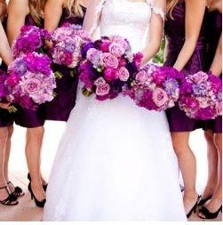 shades of purple ranunculus    ... purple theme. Wrap purple ribbons round the napkins and use purple