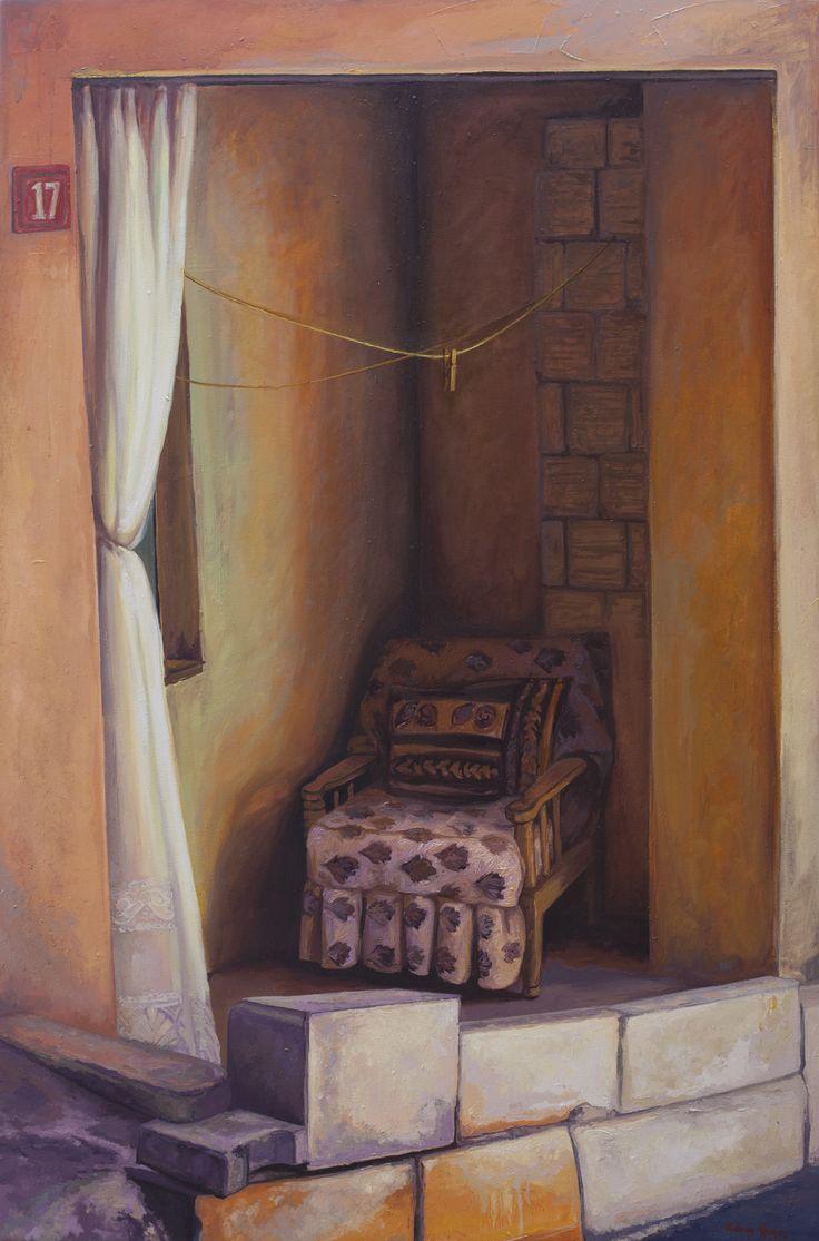 2014, 140 x 93 cm. Tuval üzerine yağlıboya / Oil on canvas