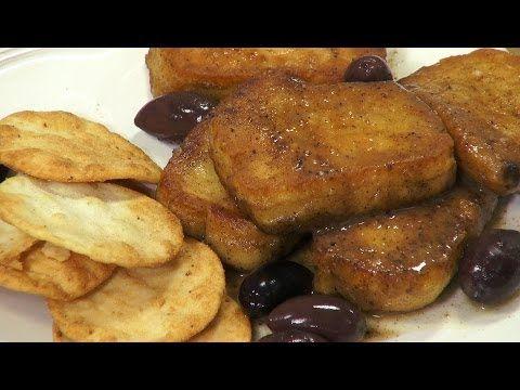 How to Make Fried Cheese - Saganaki | Recipe video's | Pinterest