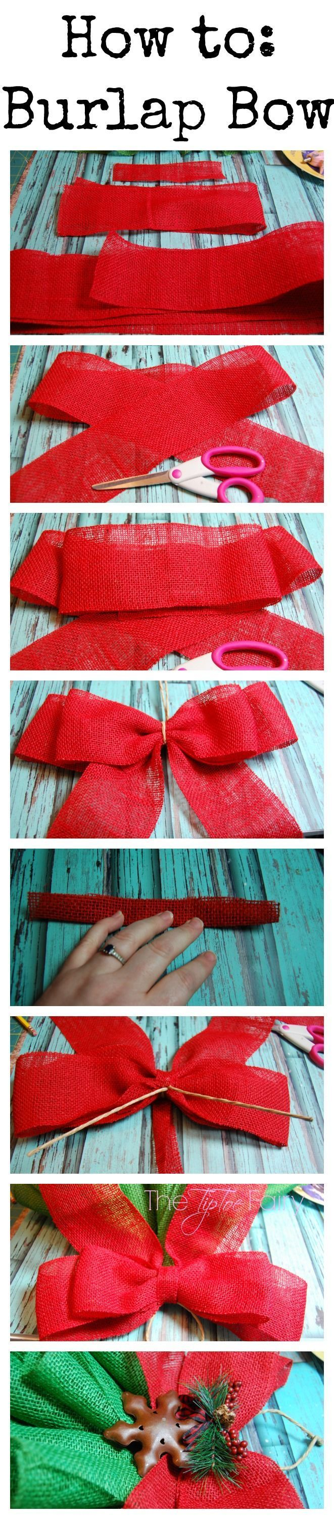 Best 25+ Christmas bows ideas on Pinterest | Ribbon bow tutorial ...