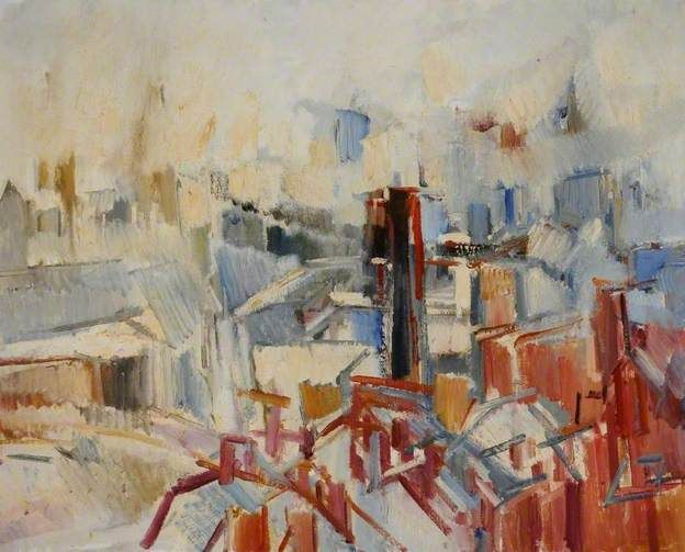 Dennis Creffield - Leeds, from the Roof of the University