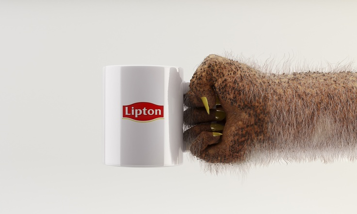 Everyone's invi-TEA-d  Everyone likes Lipton. Even far away from earth    Visual 3