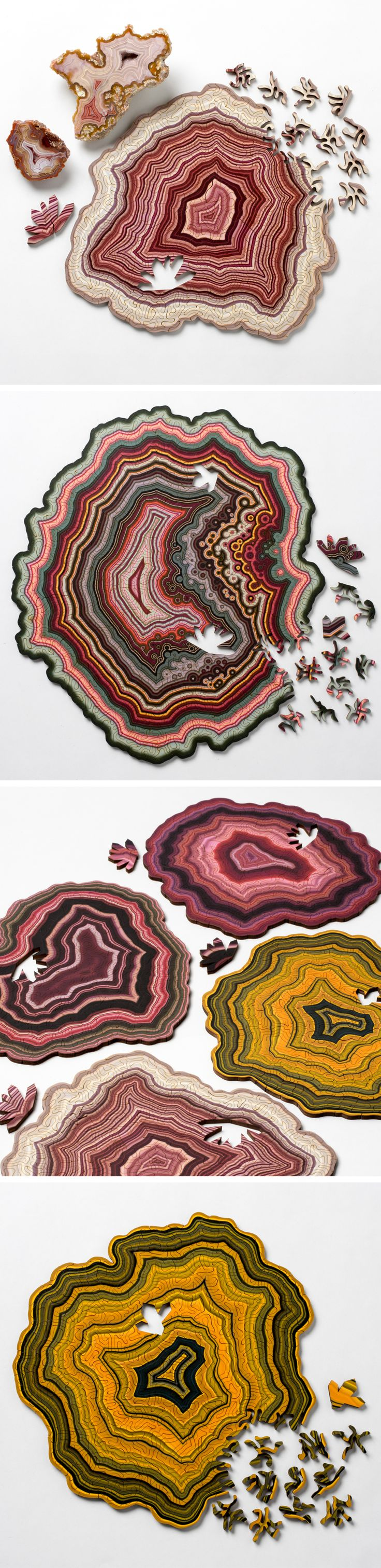 Computer-Generated Jigsaw Puzzles Based on Geological Forms