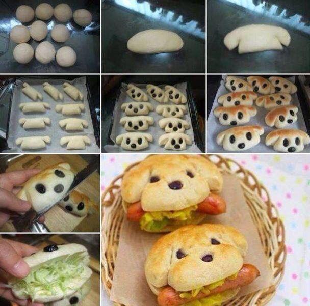 Hondenbroodje hotdog