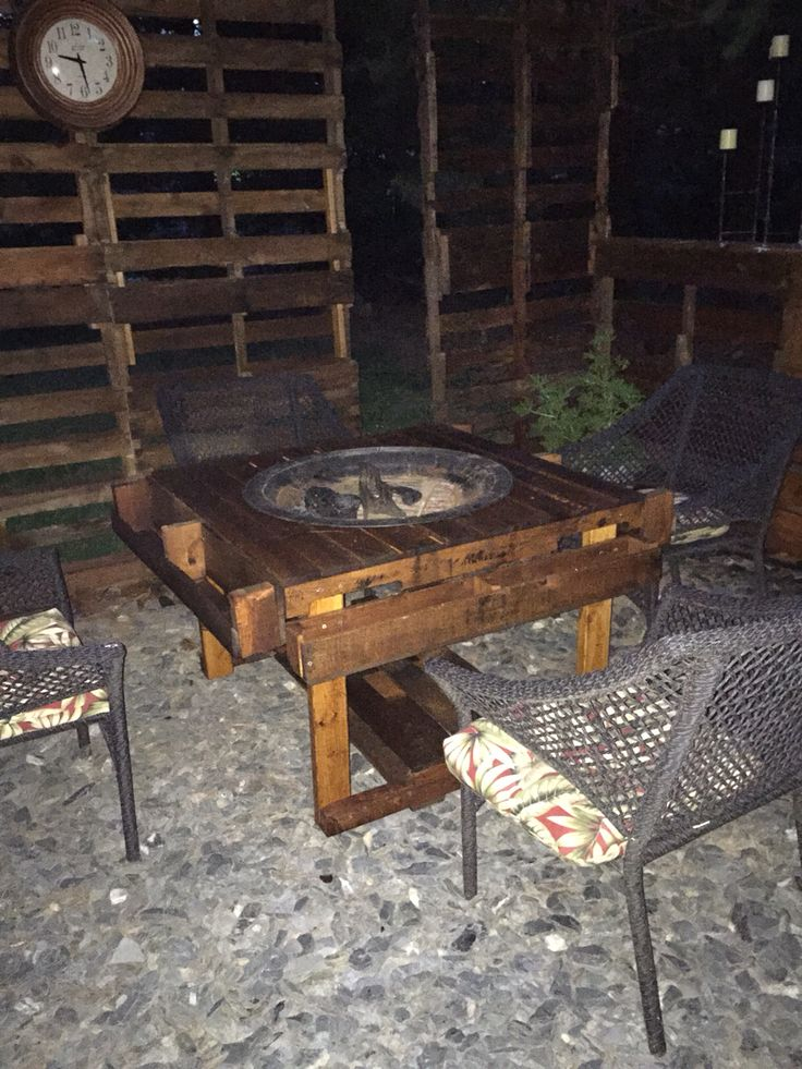 1000 ideas about pallet fire pit on pinterest fire pit for Pallet fire pit