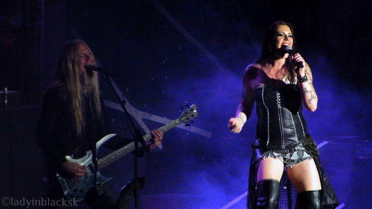 lady in black: Music #nightwish #floorjansen #marcohietala #symphonicmetal #symphonic #efmbtour #femalefronted