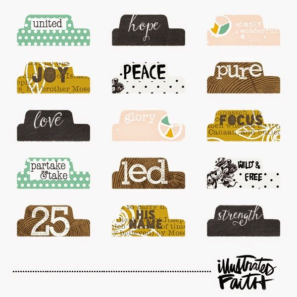 illustrated advent tabs creative journaling bible
