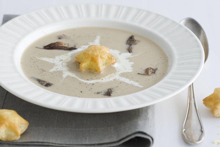 Bospaddenstoelensoep #mushrooms #soup