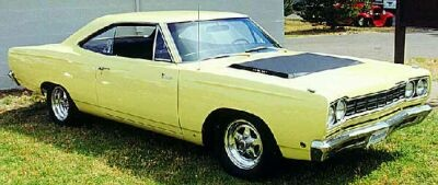 1968 Plymouth Road Runner in light yellow, same color as my first car before I painted it in my friend's garage and home made paint booth! Visit me at http://RalphPaglia.com