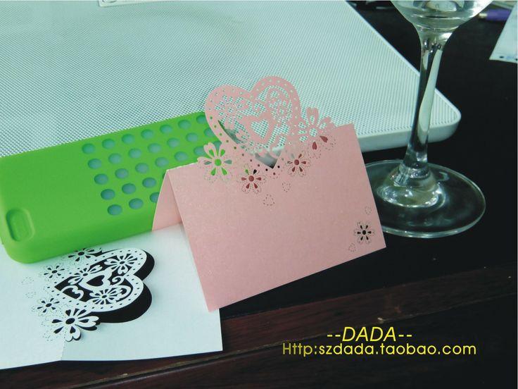 Jiuzhuo свадебные украшения карта может добавить новую таблицу имена сиденье карты для свадьбы карт карт - Taobao