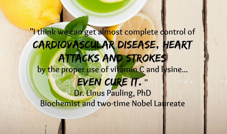 Dr.Linus Pauling PhD, vitamin C and cardiac diseases