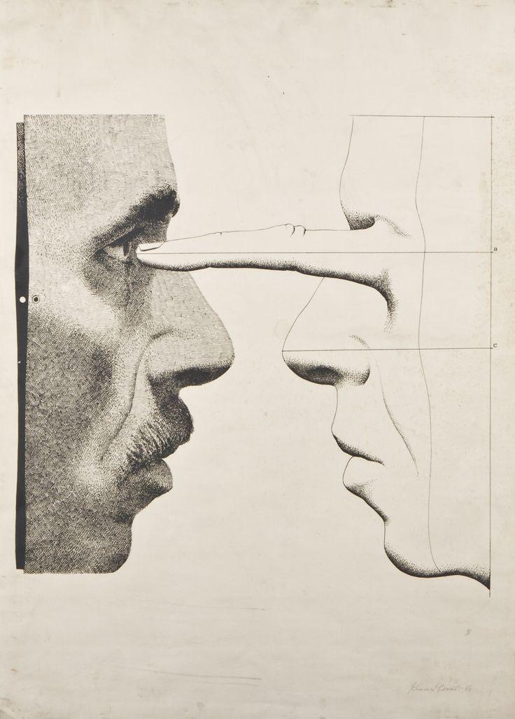 Kimmo Kaivanto, 1969, 89x63 cm - Hagelstam A136