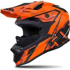 509 Altitude Carbon Fiber Helmet - Orange