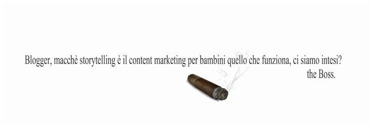 La storytelling non si affronta! Blogging per fare money è = solo content marketing!