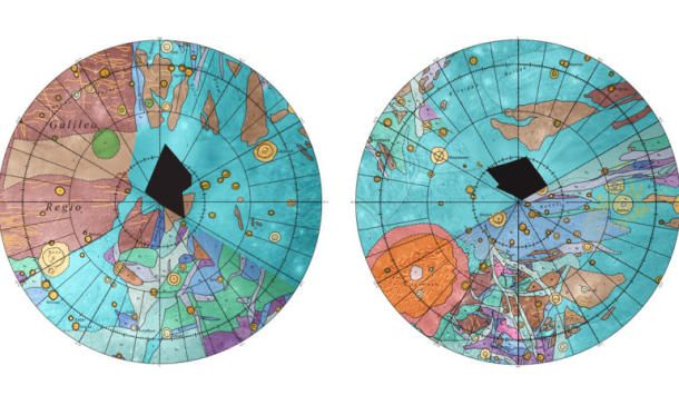 Adorn your wall with free map of solar system's biggest moon