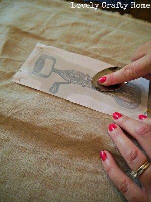 DIY | Screen Printing on Tea Towels