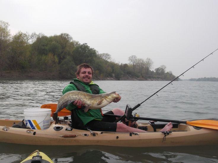 Pesca in Kayak – Dal Po con furore