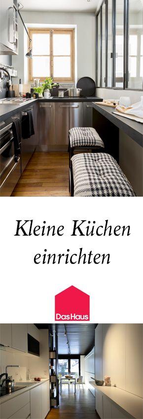 Kleine Küchen aufstellen: Alles gut platziert