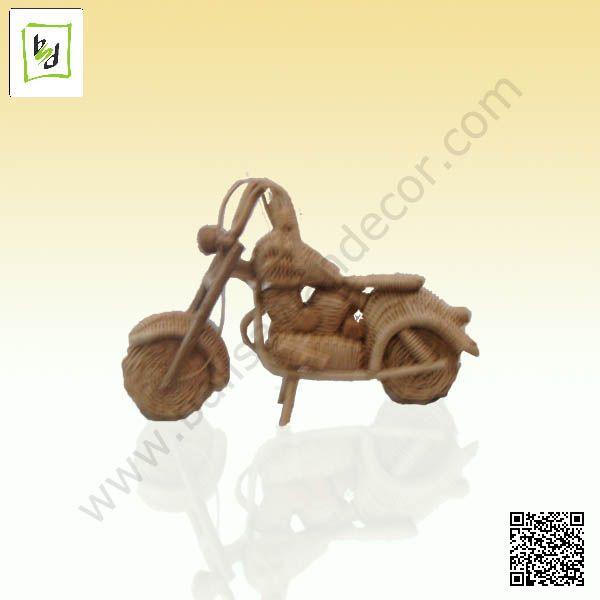 Harley miniature rattan by #balisawahdecor see more at www.balisawahdecor.com