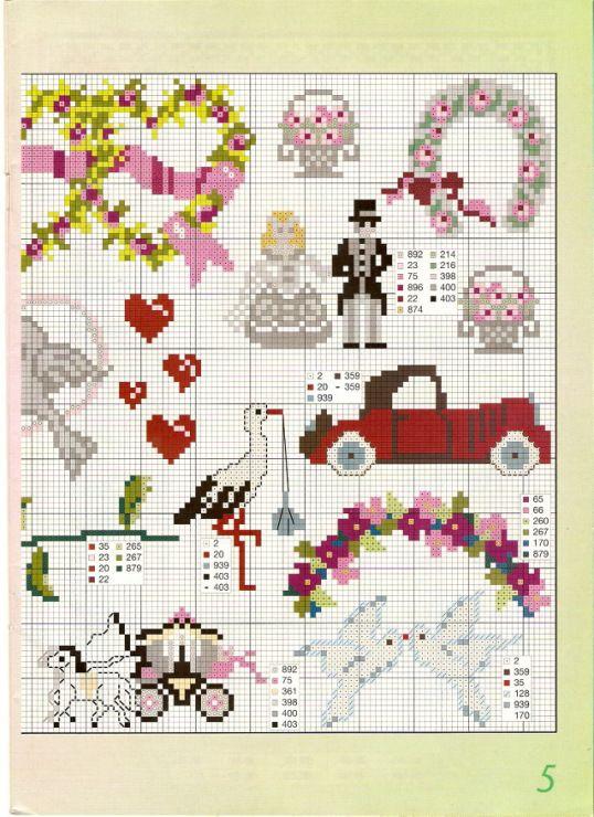Gallery.ru / Фото #5 - Burda Special-230 цветных мотивов для вышивки крестом - Orlanda
