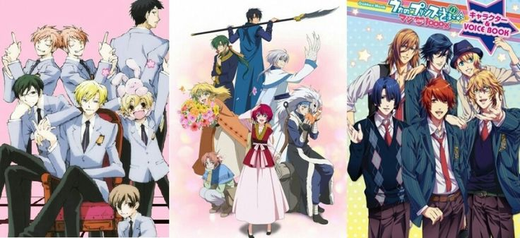 Top 10 Best Reverse Harem Anime - and I plan to watch them all.. Done with 4 out of 10!
