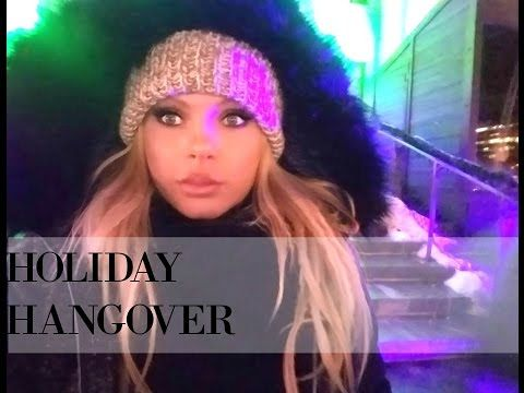 HOLIDAY HANGOVER VLOG!