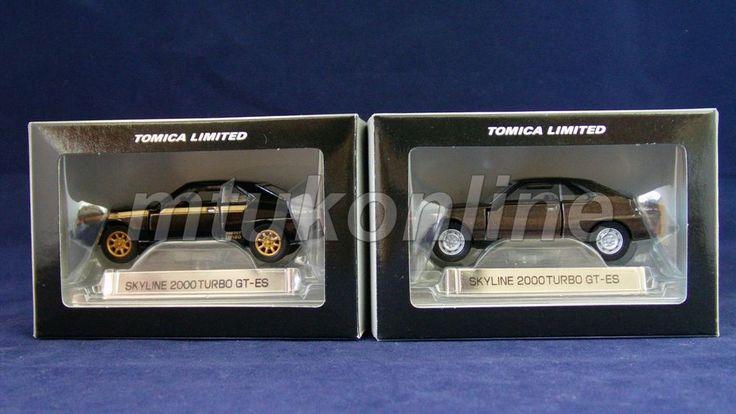 TOMICA TL | SKYLINE HISTORY | NISSAN SKYLINE C210 GT-ES TURBO | 1/65 | 2 MODELS