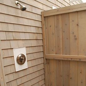 17 Best Images About Outdoor Wood Showers Kits Cedar On