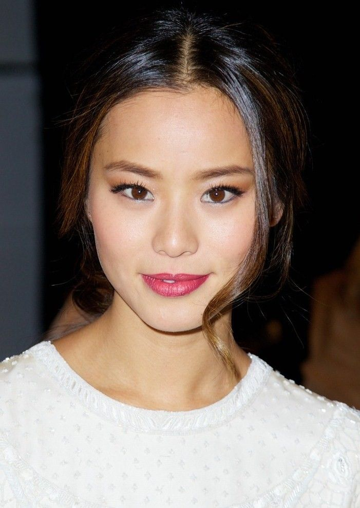 Jamie Chung In Blue Eyeliner Koreanbeauty Makeup A S I