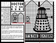 Ravelry: Doctor, it's the Daleks! pattern by 4mpersand