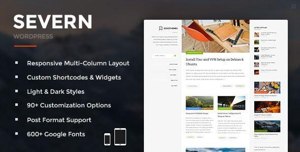Download Severn-Responsive WordPress Blog Theme