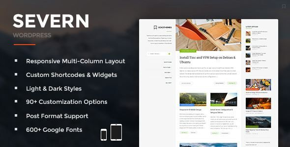 Download Severn-Responsive WordPress Blog Theme