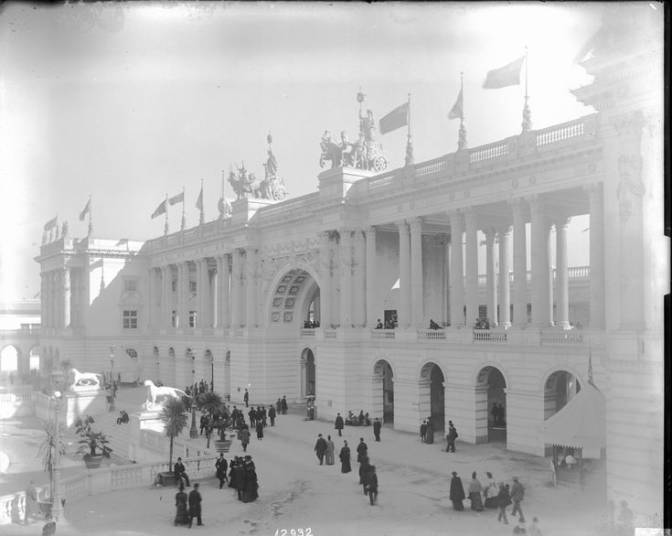 1893 Fair building Chicago expostion The World Fair: Chicago 1893events