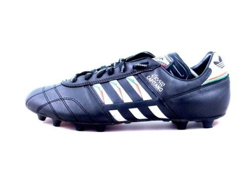 vintage ADIDAS ETRUSCO CAPITANO Football Boots 12 World Cup 1990 Italy
